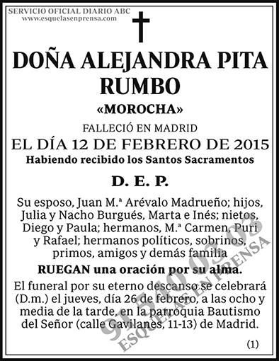 Alejandra Pita Rumbo